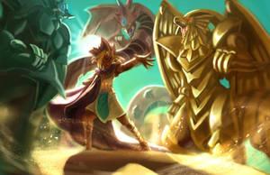 Egyptian Gods by TheKiwiSlayer