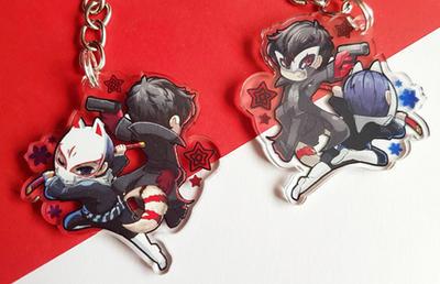 Persona 5: Joker and Yusuke by TheKiwiSlayer