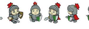 Mini knight!