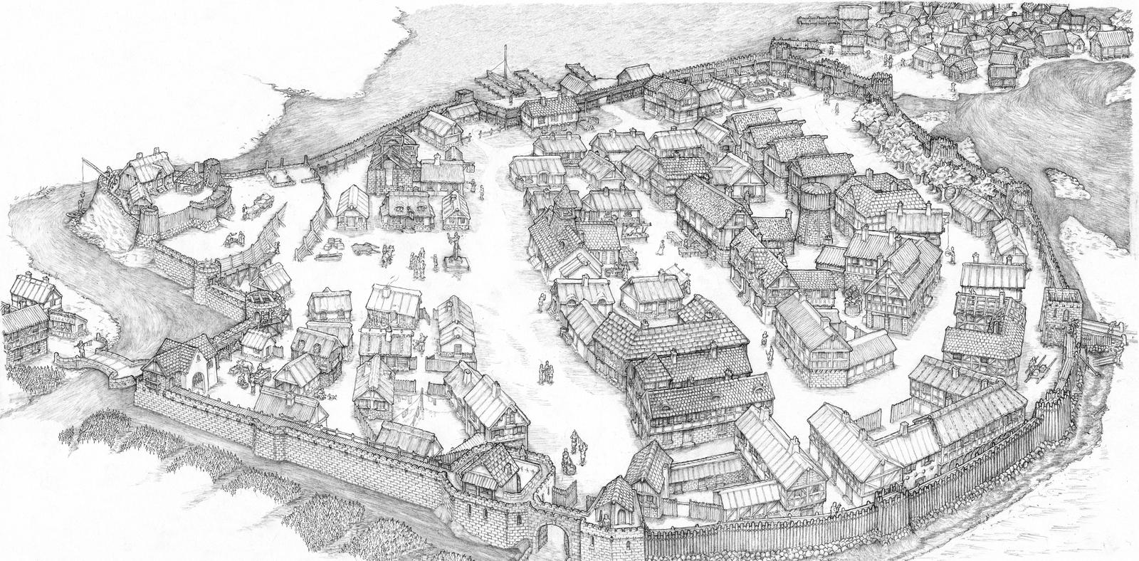 Period 03 A Fortified City by eagi