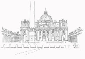 Rome St Peter Church by eagi