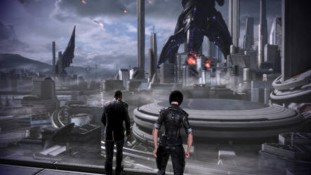 Mass Effect 3: The Reapers are reaping the city!