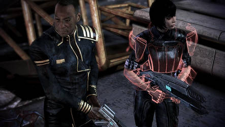 Mass Effect 3:Shepard and Anderson