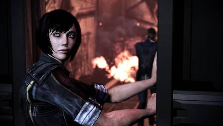 Mass Effect 3: Shepard! Hold the Door!