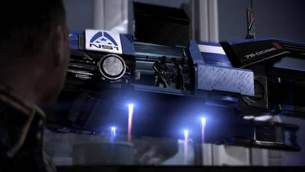 Mass Effect 3: Alliance troops arriving