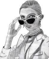 Ralph Lauren suglasses model