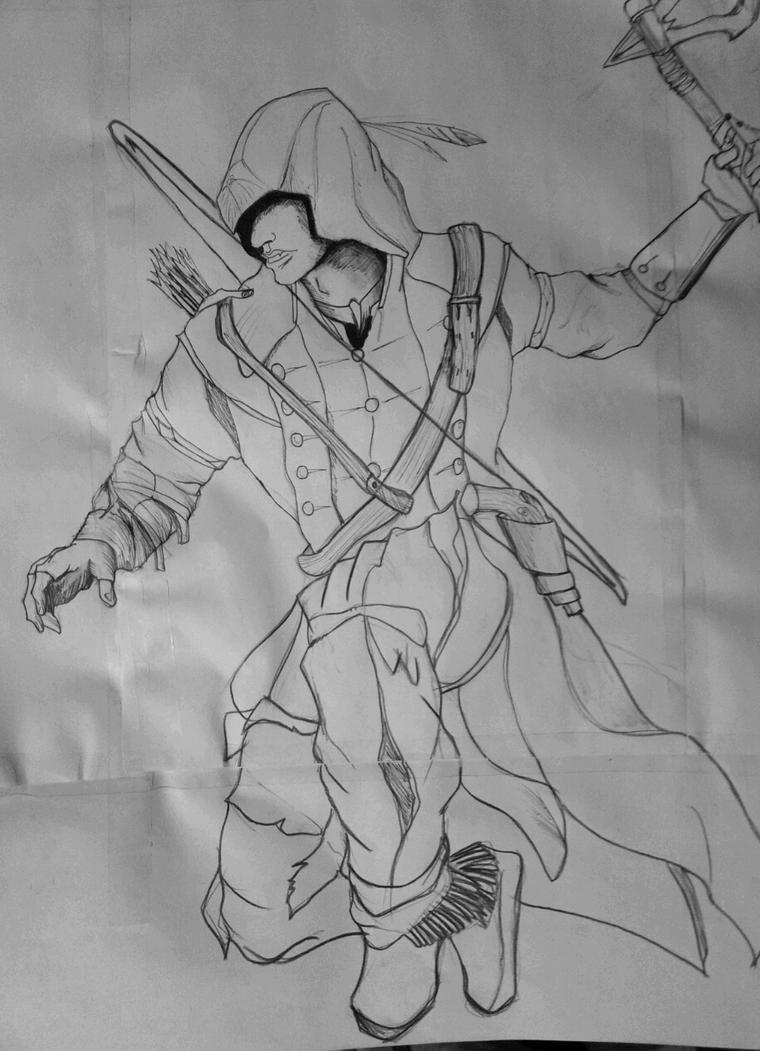 Connor Kenway Drawing