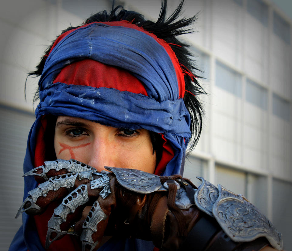 PoP 2008 Cosplay - An unknown warrior will rise.. by 6Silver9