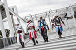 Altair-Ezio-Connor-Edward Cosplay _ ACcosplayITA