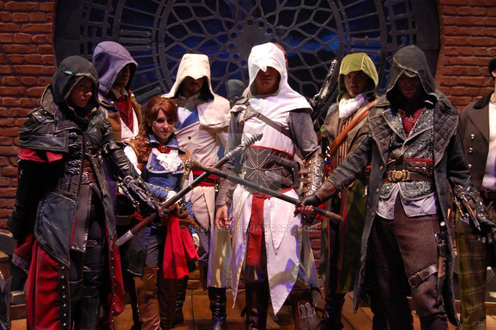 Brotherhood Reunion at Gamescom by 6Silver9