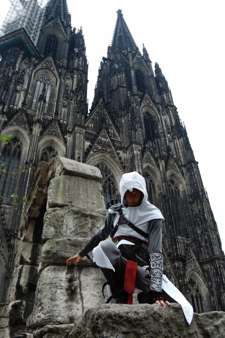 Altair Cosplay - Synchronizing by 6Silver9