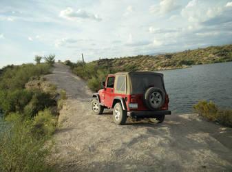 Saguaro Lake by Theguywithcheez