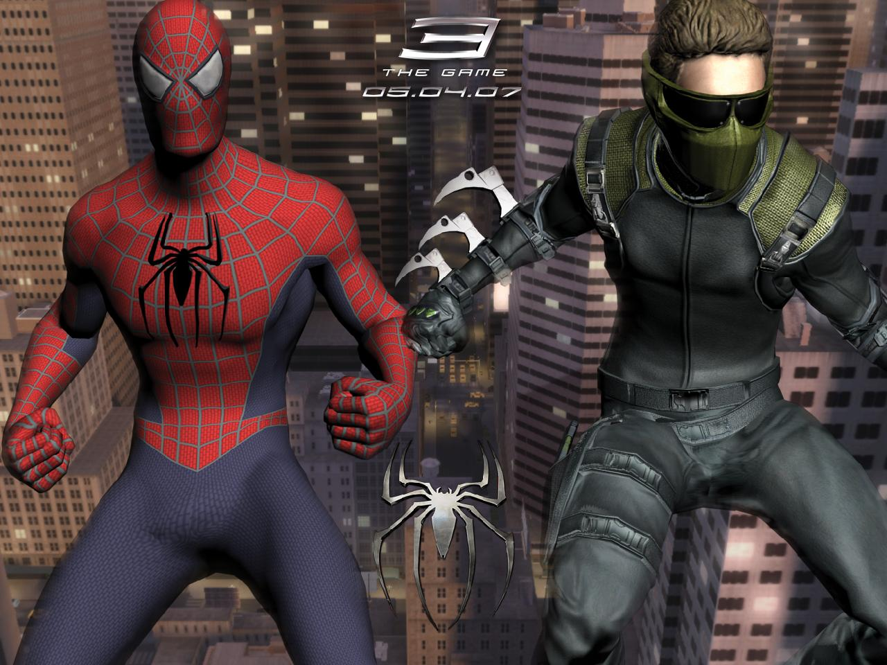 SpiderMan 3 The Game Wallpaper by redman93