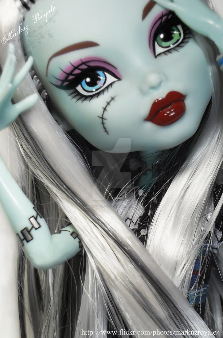 monster high frankie by markuzroyale