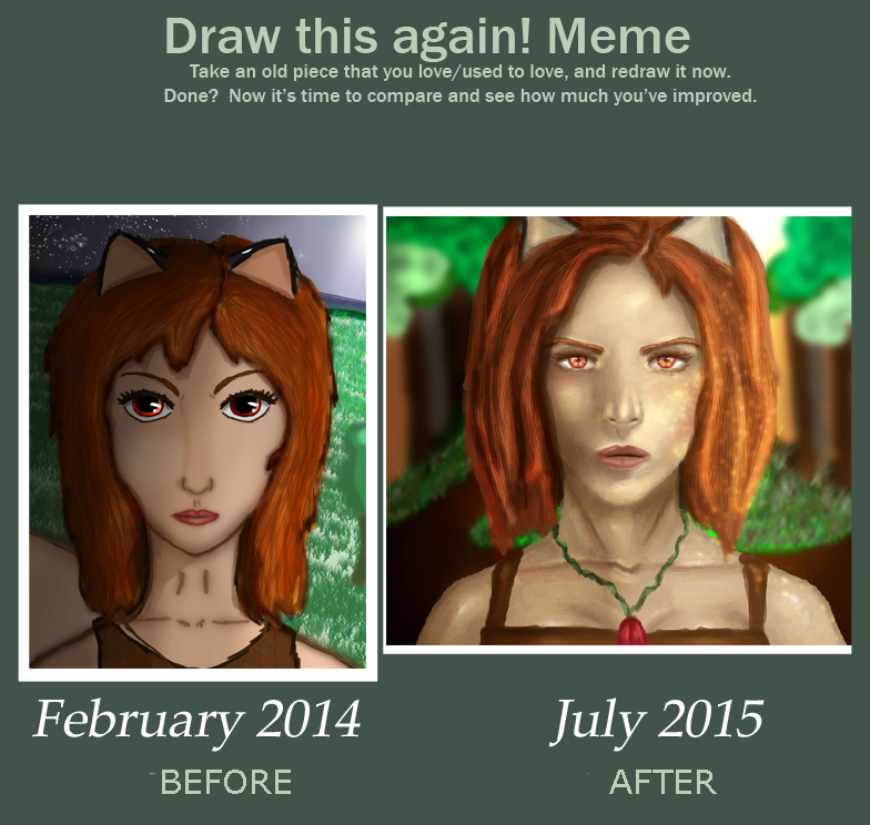 Draw This Again: 17 months by Fanciful-drawer