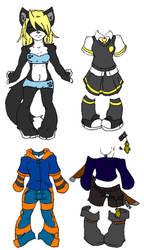 Ki-chan Paper Doll 3 by Neko-daewen