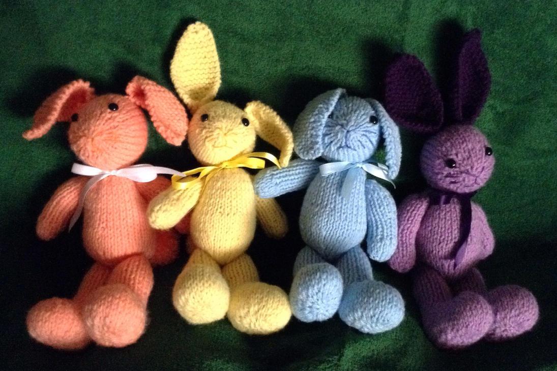 Easter Bunnies by Neko-daewen