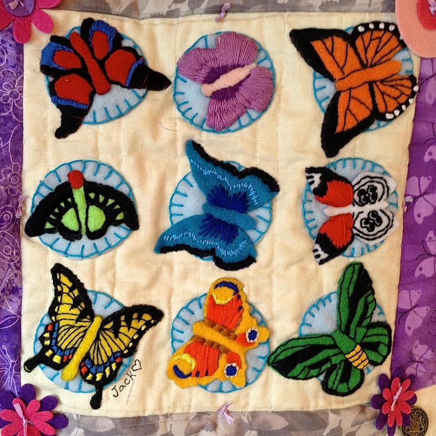 Butterfly Quilt: My Square by Neko-daewen