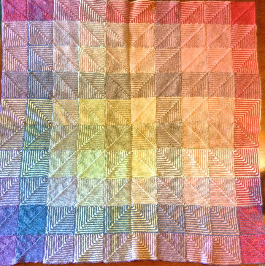Rainbow Baby Blanket by Neko-daewen