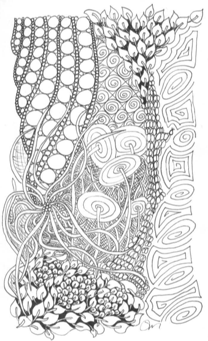 Zentangle 26 by Neko-daewen