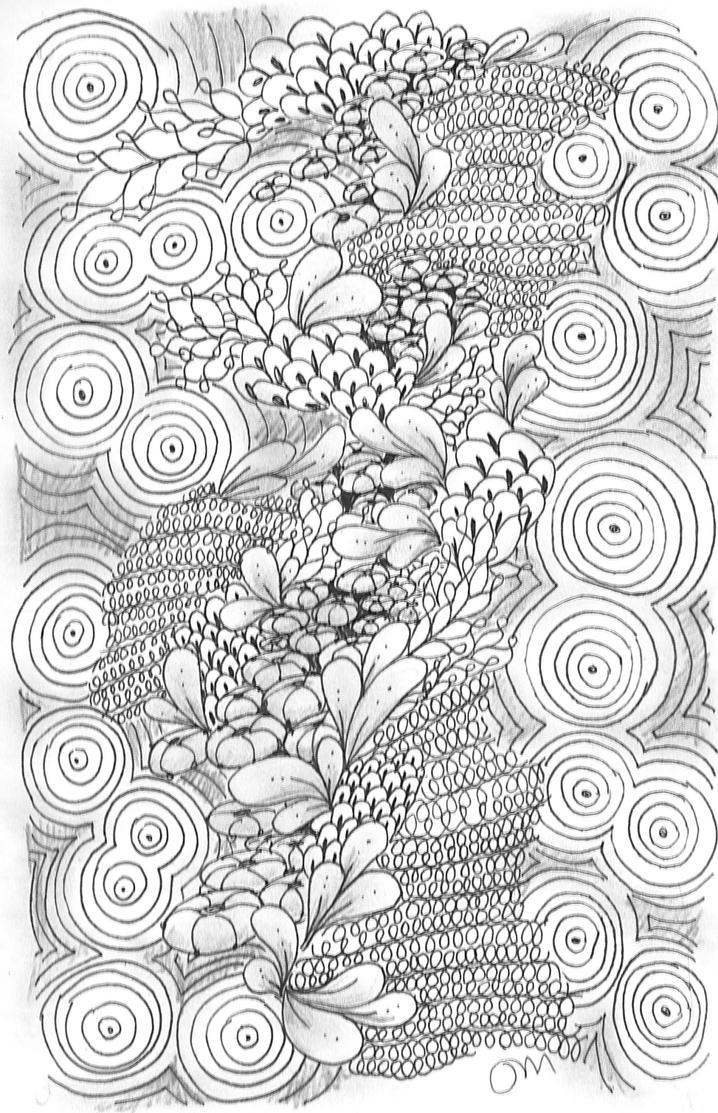 Zentangle 28 by Neko-daewen