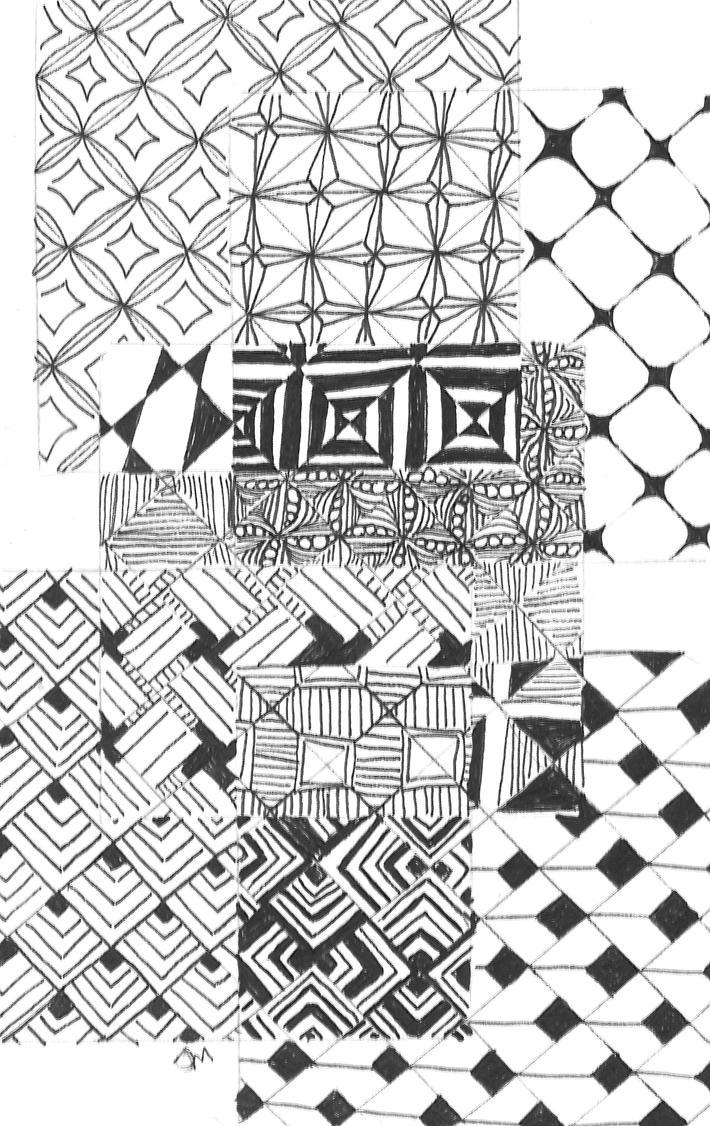 Zentangle 49 by Neko-daewen