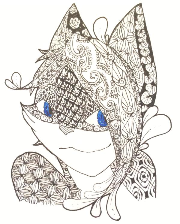 K1 Doodle Portrait by Neko-daewen