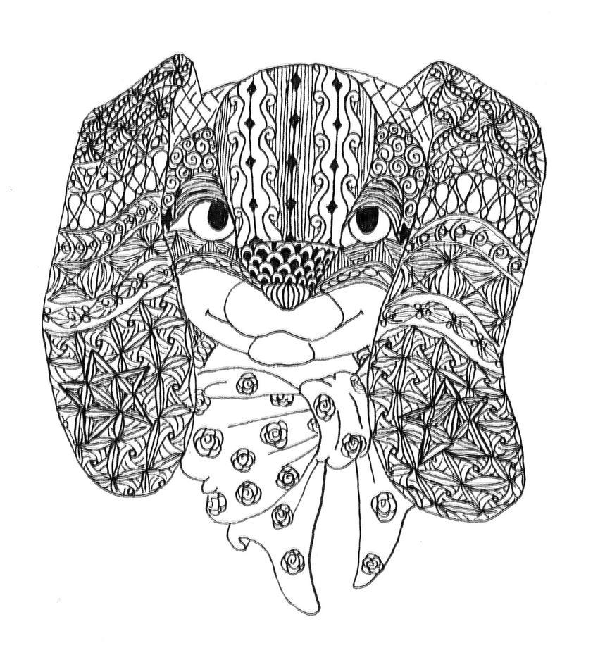 Poink Doodle Portrait by Neko-daewen