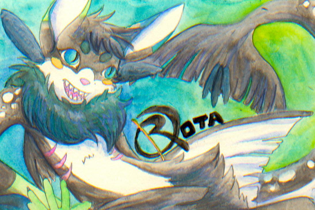 Rota Postcard Badge by Neko-daewen
