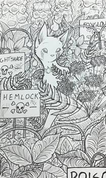 Inktober '19: Poisionous | Overgrown