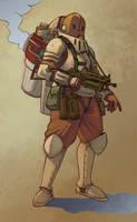 Jump Trooper 2 by Rhubarbarian
