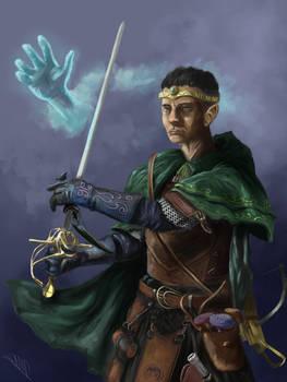Half-Elf Rogue