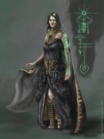 Cursed Sorceress