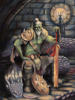 Old Orc Hydra Slayer