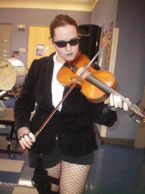Violin by Morgana13