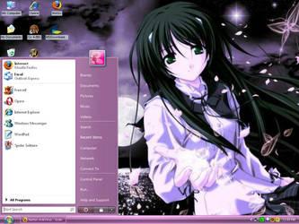 Purple Desktop by Asilynne