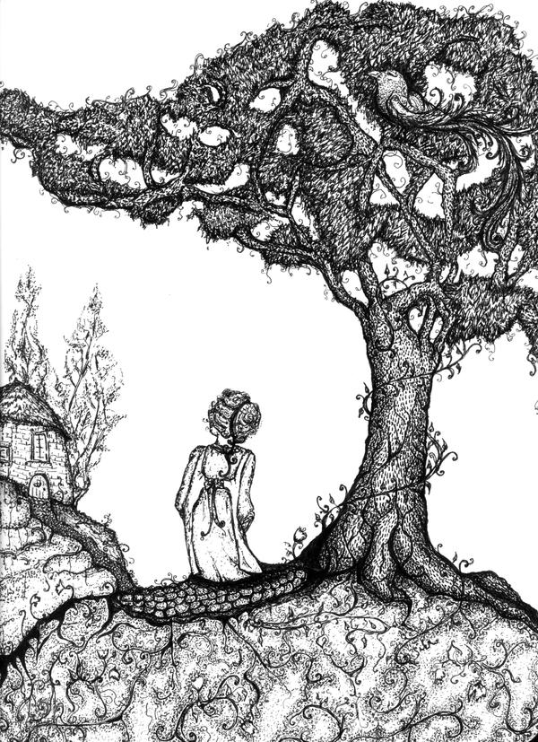 The Juniper Tree by FunnyLittleBirds