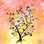 Rosetreeposter by ivrona