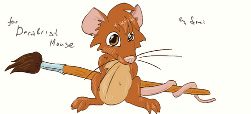 Decabrist Mouse by ierf