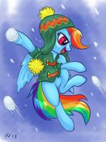Snowball game by ierf