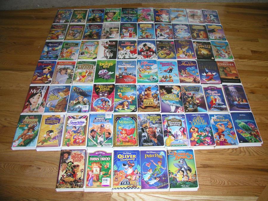 My disney vhs collection by timberhowl