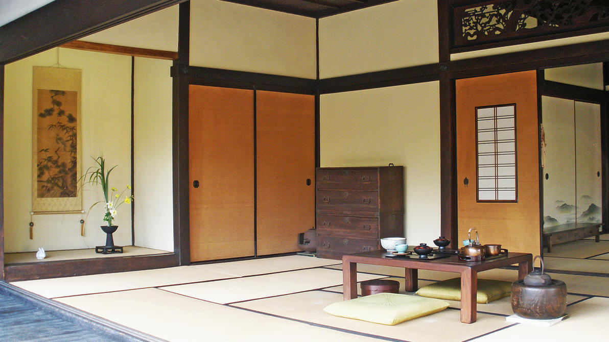 Traditional japanese room by fritters on deviantart - Case giapponesi moderne ...