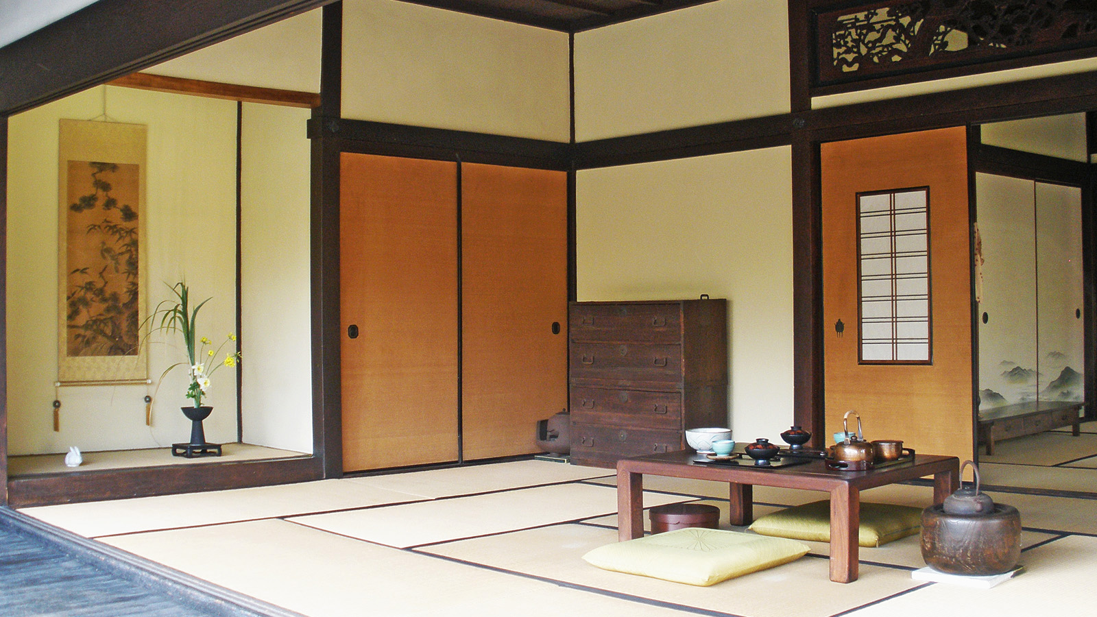 traditional japanese room by fritters on deviantart