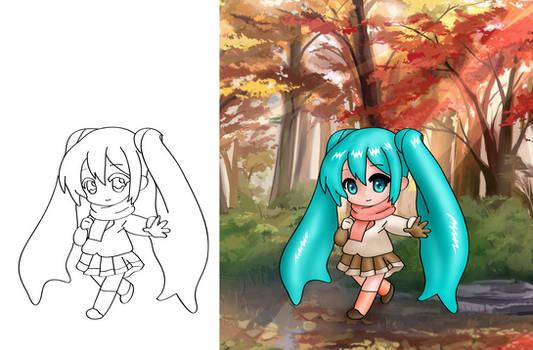 Autumn Miku