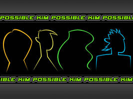 Kim Possible Silhouettes by Fritters