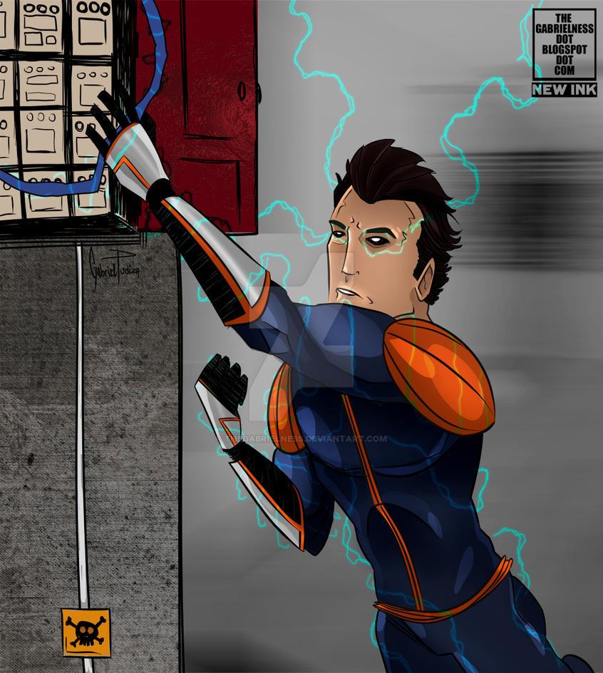 ELECTRICITY LEECH (April 2013) by TheGabrielness