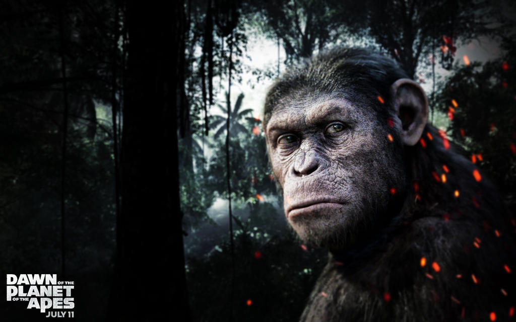 Planet Of The Apes Wallpaper: Dawn Of The Planet Of The Apes Wallpaper V2 (2015) By