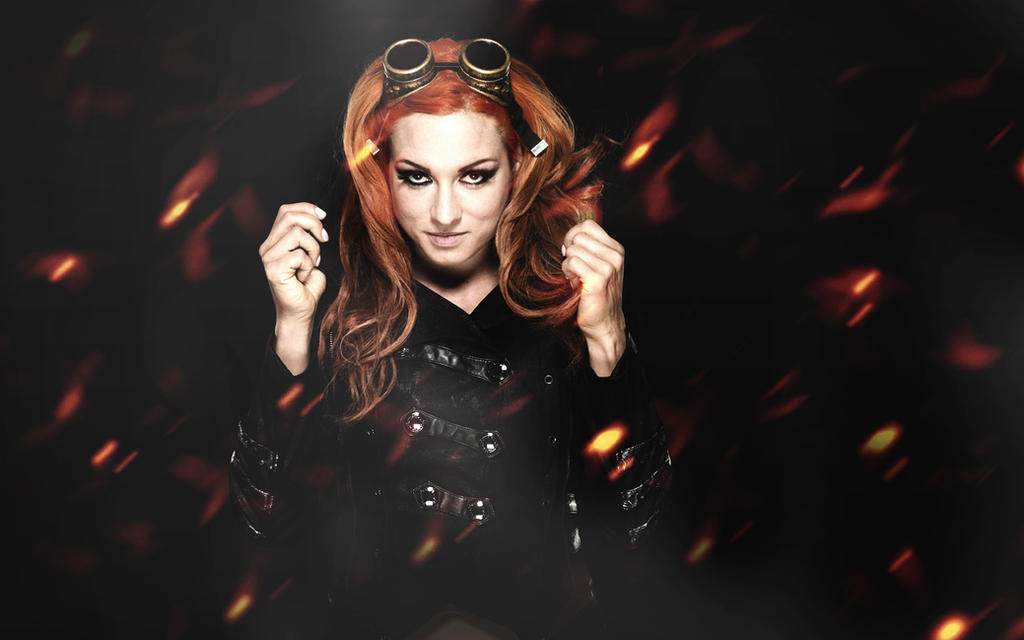 Becky Lynch Wallpaper 2016 By ByBREDI