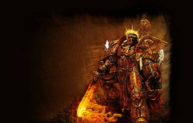 Warhammer 40K Emperor by RAVENORE
