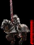 Pre-cut Medieval Knight 01